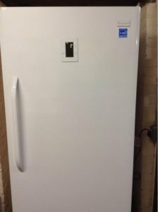 new upright freezer